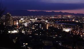 街の灯り。