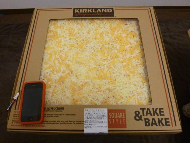 コストコで買える巨大ピザはアレンジ次第でどんなピザにもなる!
