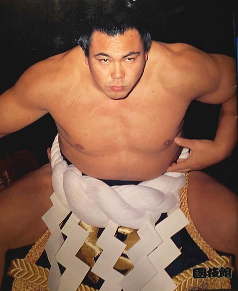 千代の富士の体