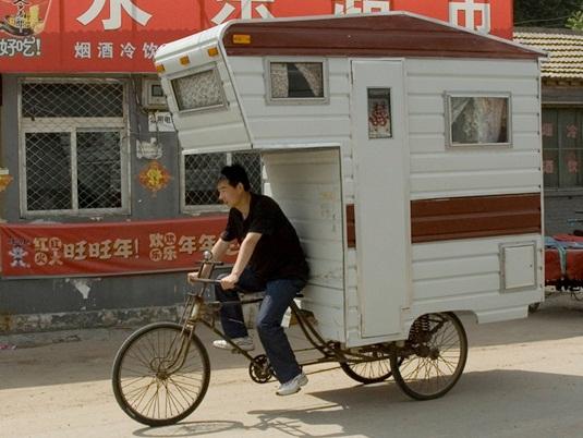 キャンピング自転車