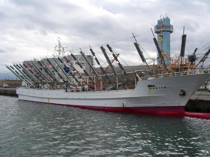 サンマ 漁船