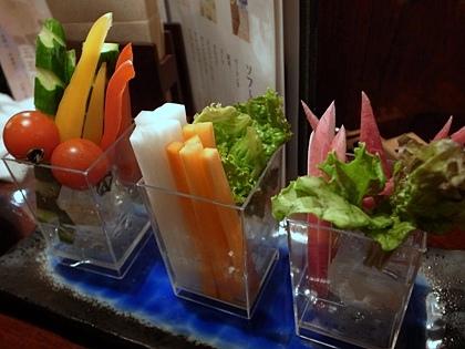 秋保野菜のスティックサラダ