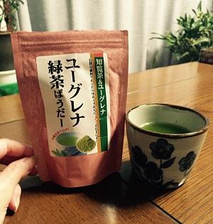 ユーグレナ緑茶ぱうだー1