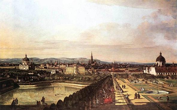 展望台からのウィーンの風景 ベルナルド・ベロット(1720~1780).jpg