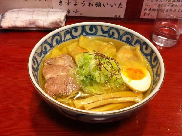 麺屋 十郎兵衛 純和鶏塩ワンタンメン