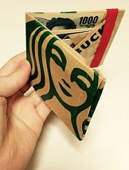 海外で大人気!ペーパーウォレットを手作りしよう♡紙袋リメイク☆