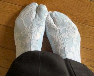 レース足袋