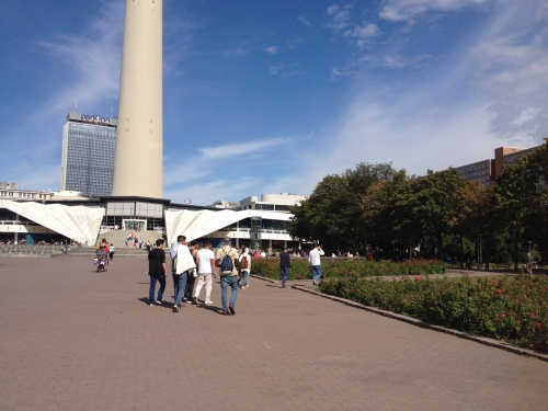 ドイツ・ベルリン旅行記8☆アレクサンダー広場駅西〜聖マリーエン教会 | ドイツに行きたい♪~ドイツ旅行記~ - 楽天ブログ