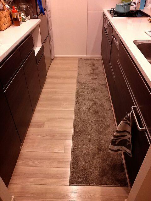 洗えるキッチンマット | た ま ...