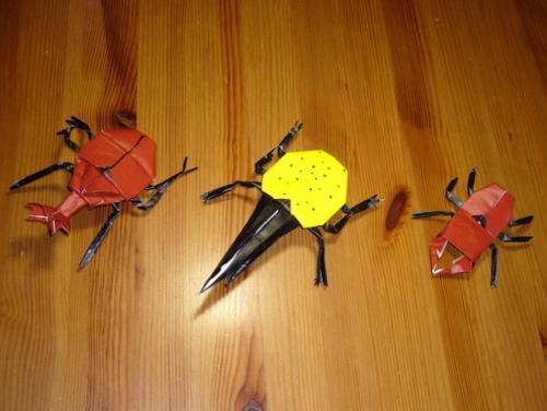 簡単 折り紙 ヘラクレスオオカブト 折り紙 : plaza.rakuten.co.jp