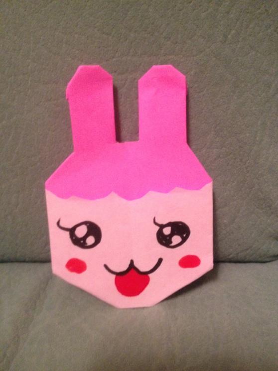 すべての折り紙 折り紙でキャラクターの作り方 : キャラクター折り紙 ちゃま ...