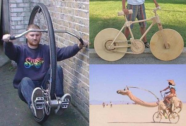 面白い 自転車