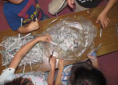 紙粘土 その1 古新聞紙で作る ... : 小麦粉粘土の作り方 : すべての講義