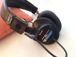 MDR-7506(MDR-CD900ST)をBluetoothでワイヤレス化