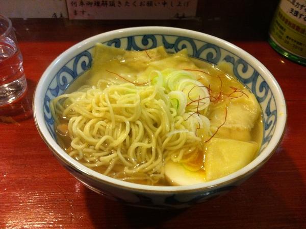 麺屋 十郎兵衛 純和鶏塩ワンタンメン(二杯目) ?