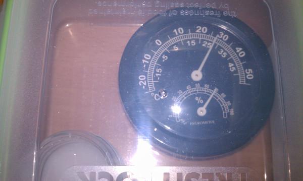 温度湿度計2