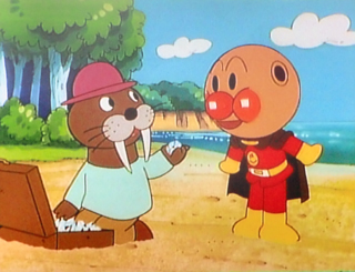 アンパンマンとセイウチおじさん