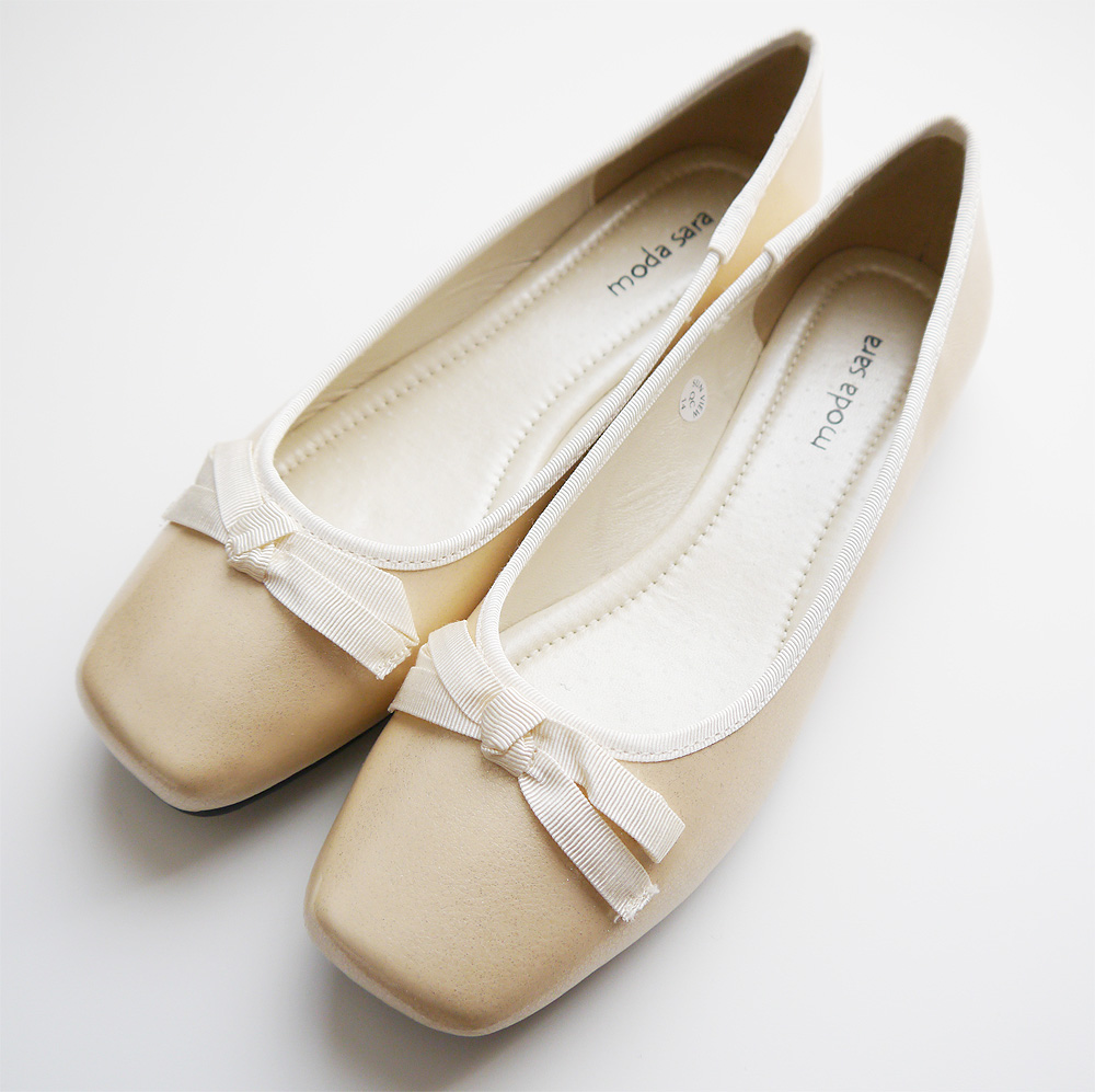 妊娠中にお呼ばれした結婚式に履く靴 ぺたんこエナメル靴