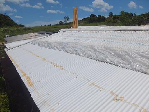 飼料庫の屋根を.jpg