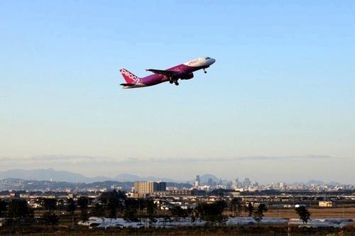仙台空港 Peach Aviation