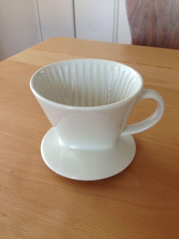 【送料込】無印良品コーヒードリッパー陶器製