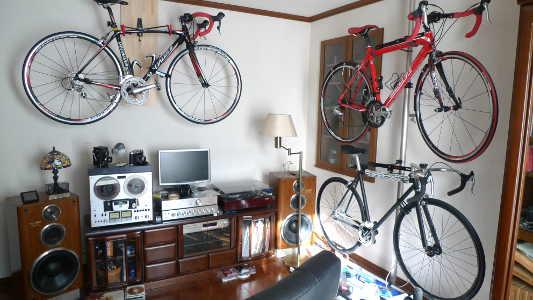 自転車の 自転車 壁掛けスタンド : 画像】オシャレ?な自転車 ...