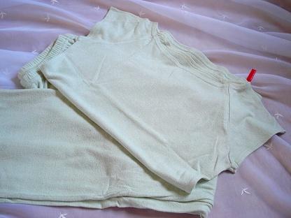 エコシルクのパジャマ