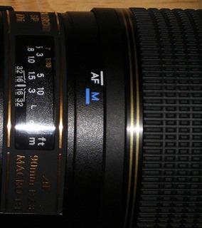 タムロンSP AF90mm
