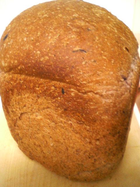ベーカリー・マイホーム グラハムブルーベリーパン