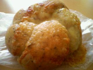 バジルオリーブチーズベーグル