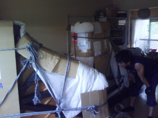 Delivery of grand piano