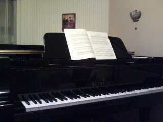 Bechstein A190 in Lesson室