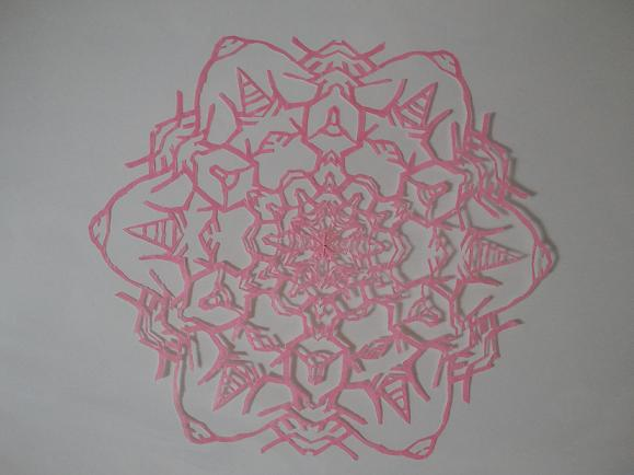 すべての折り紙 折り紙切り絵花簡単 : では、最後にチャコスさんの ...