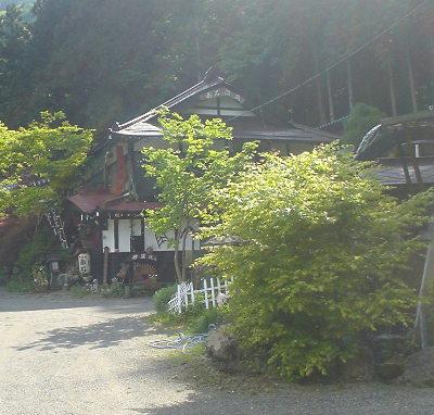 赤石温泉全景