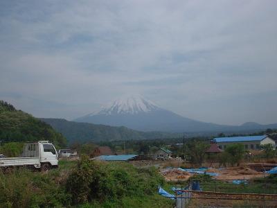 根場からの富士山2