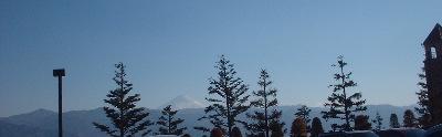 フルーツパークからの富士山