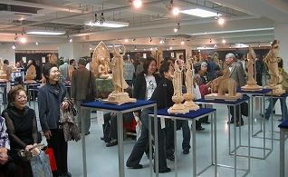 06年11月仏像彫刻展