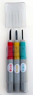 07年3月ゴムハン彫刻刀新製品