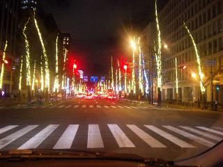 御堂筋ライトアップ2010