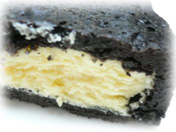 黒いチーズケーキ2