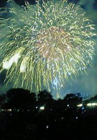 大濠の花火大会1