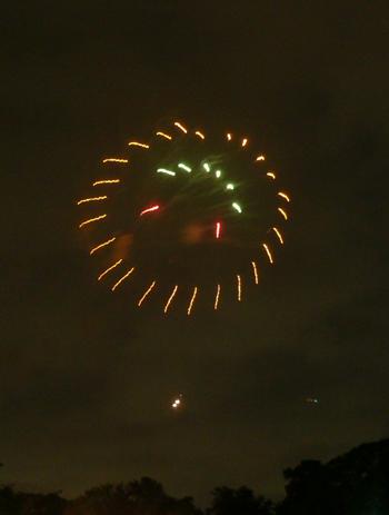 大濠の花火1