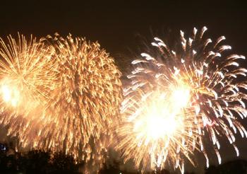 大濠の花火2