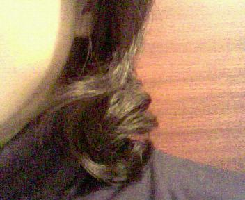 髪パーマ当日