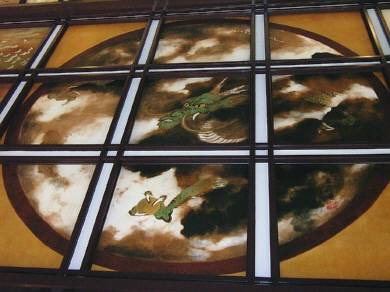 天井絵 龍図