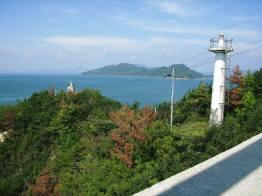 灯台のある島