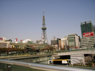 立体公園とテレビ塔
