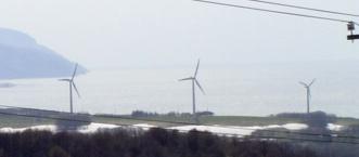 留萌風力発電