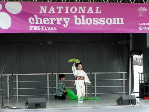 日本舞踊ワシントン