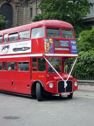 ロンドンバス式結婚式